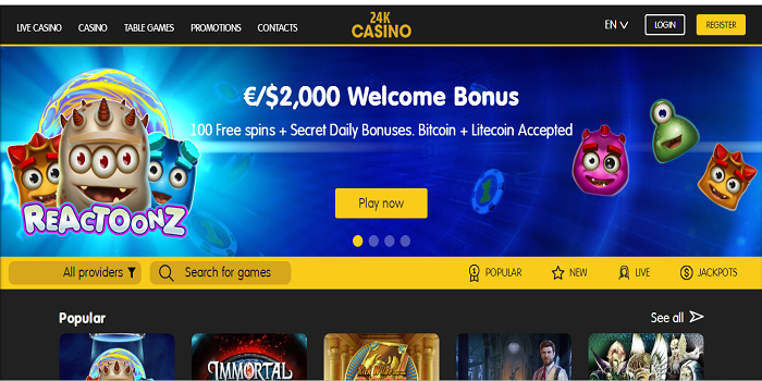 Free To Play Online Casino